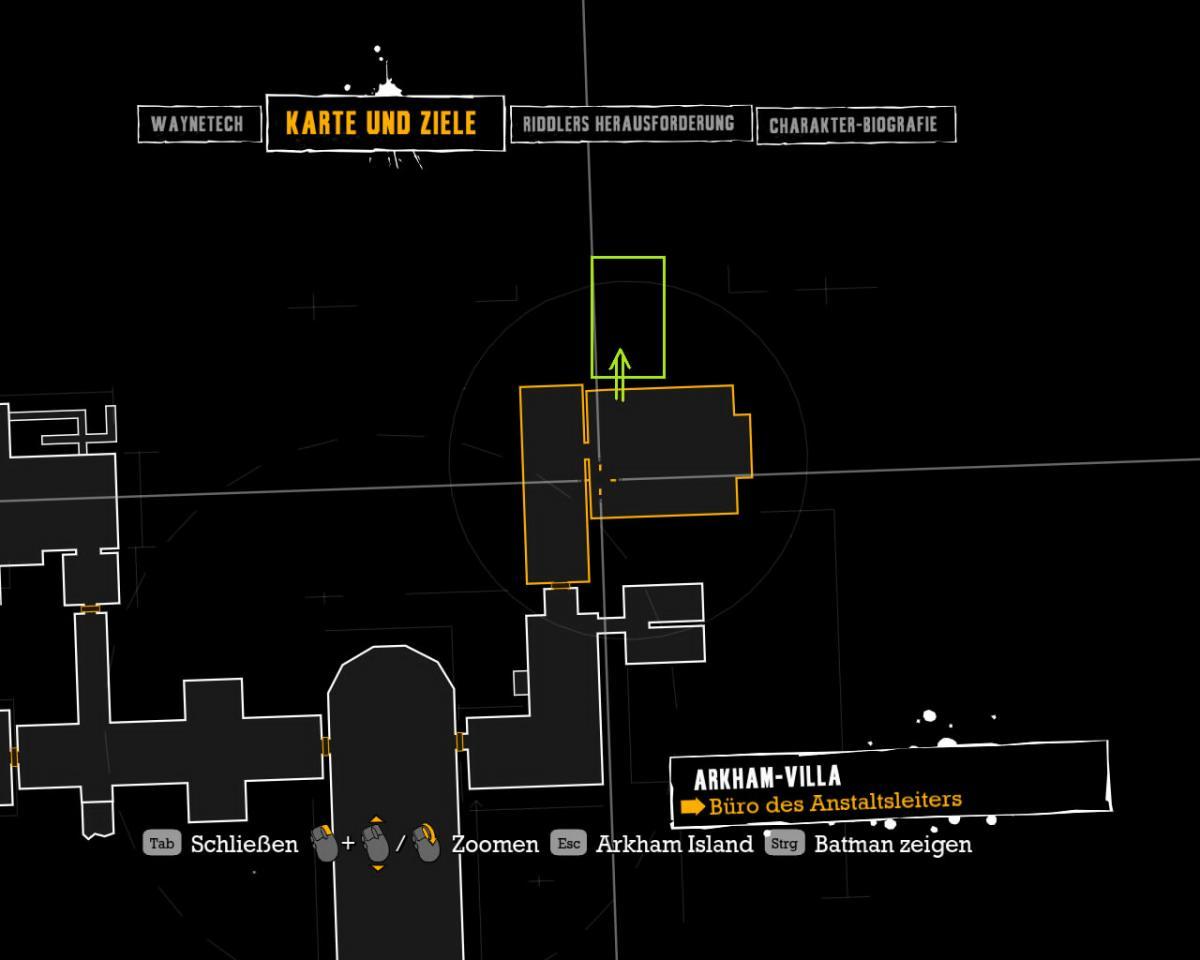 Batman arkham asylum geheimraum von quincy sharp for Schreibtisch quincy